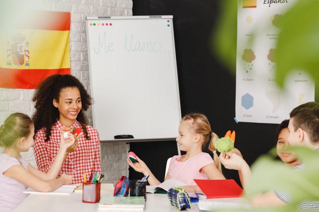 kurs języka obcego dla dzieci