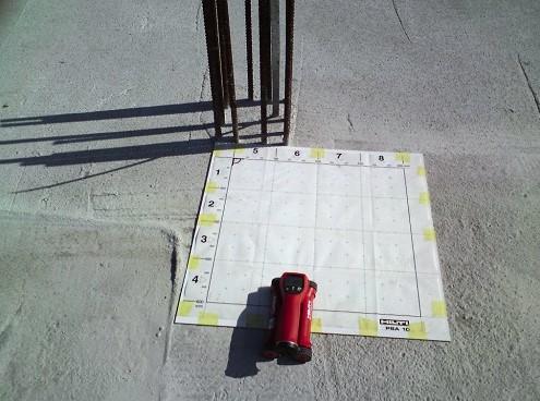 skanowanie betonu